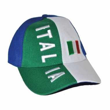 Baseball petje italie 10026820