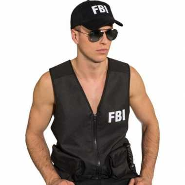 Fbi pet zwart voor volwassenen
