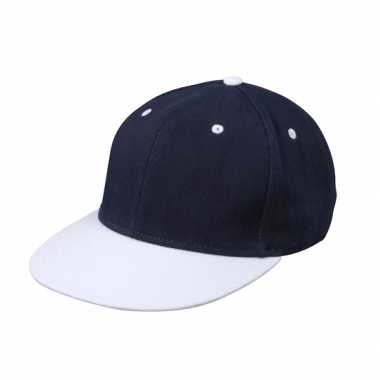 Hiphop pet navy/wit