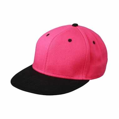 Hiphop pet zwart/roze