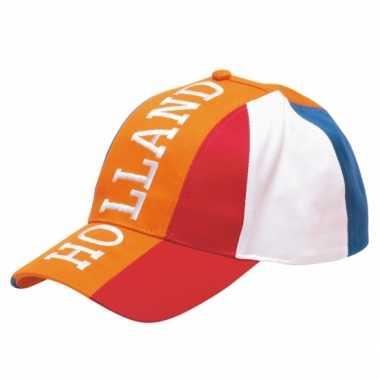 Oranje pet Holland voor volwassenen