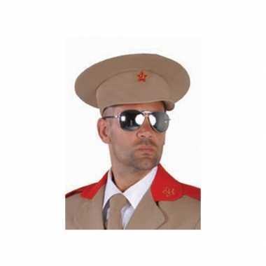 Russische generaal pet sovjet logo