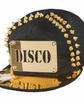 Disco pet met gouden spikes