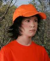 Kinder petje oranje